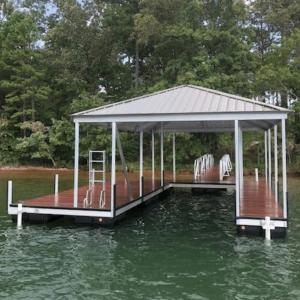 Single Slip Boat Docks