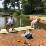 The Master Docks team are experts at dock repair. Contact us for any decking, structural, or lift issues.
