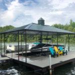 Custom Installed Dock Roofs