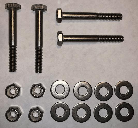 Fold down cleat hardware kit