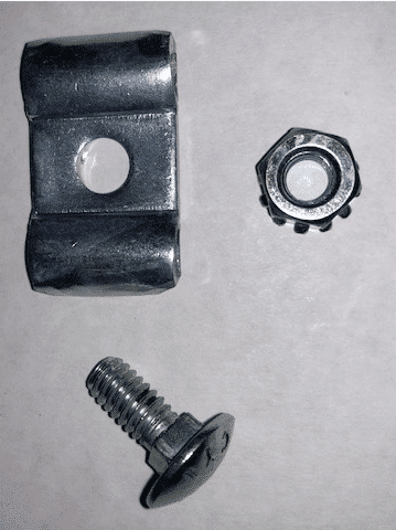 Cable clamp for DL2500 handwinch