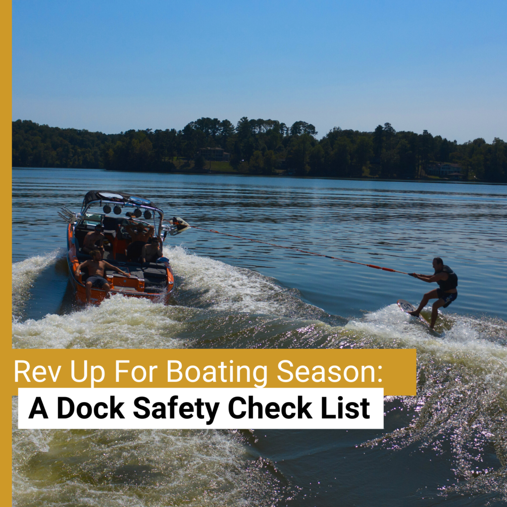 Checklist for Dock Safety